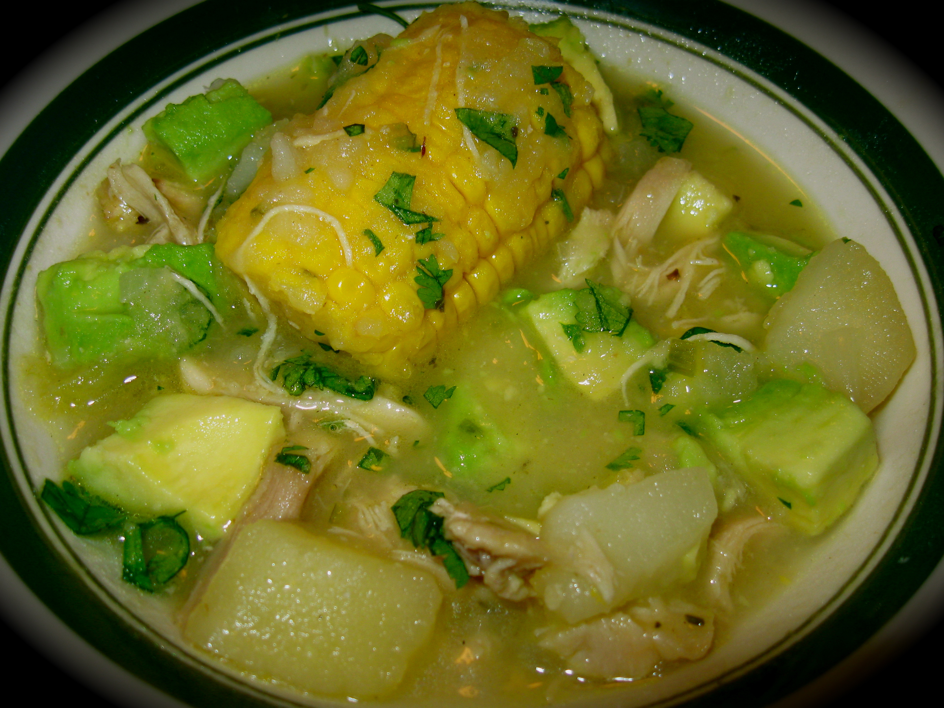 Colombian Chicken and Potato Soup [project #23] | thekitchenreed