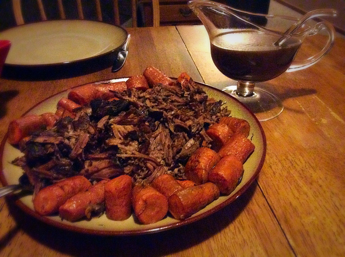 Pot Roast and Roasted Root Vegetables, slow cooker ...