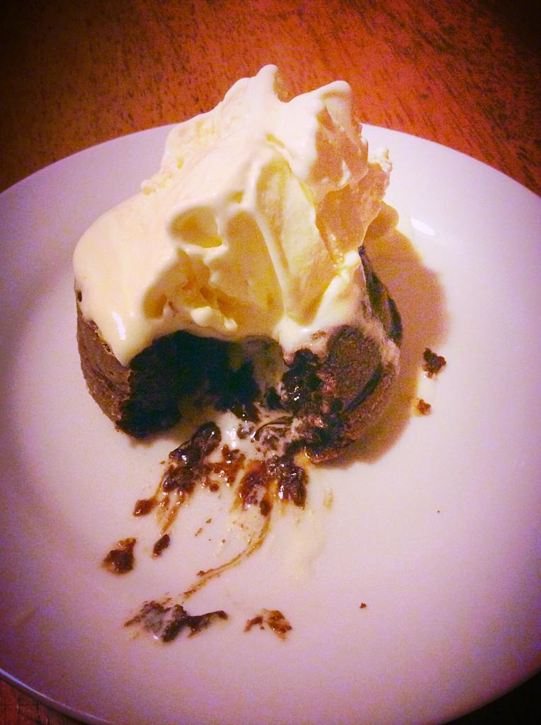 p.333 Molten Lava Cake