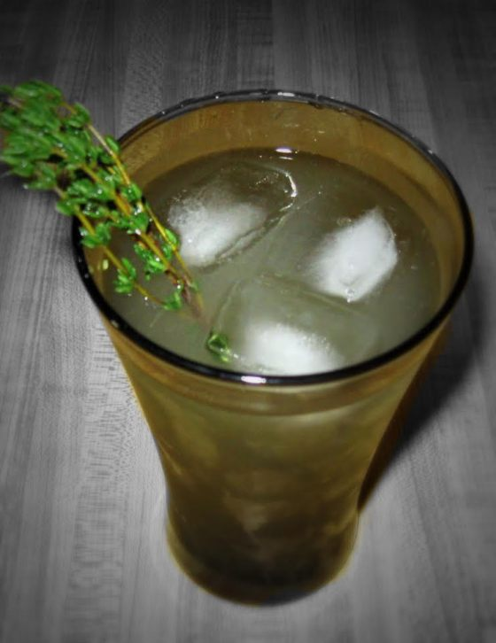 p. thyme lemonade